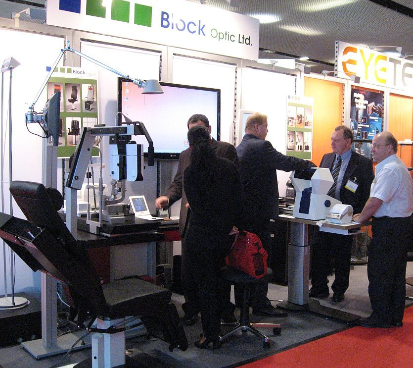 Messestand Block Optic ESCRS Barcelona 2009